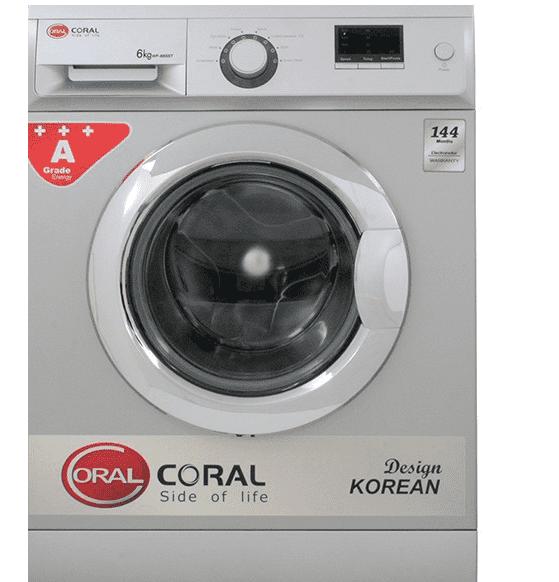 کد خطا و ارور ماشین لباسشویی کرال